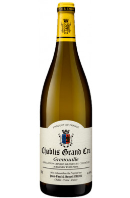Jean Paul Droin Chablis Grand cru Grenouille 2015