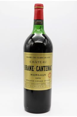 Brane Cantenac 1970 Magnum -10% DISCOUNT !